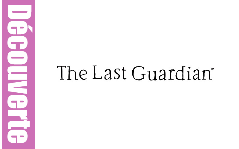 The Last Guardian : La découverte