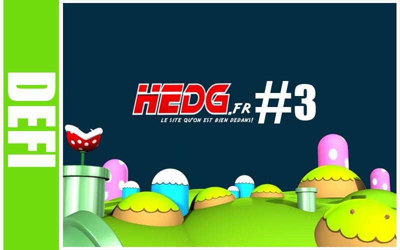 Défi Hedg.fr #3